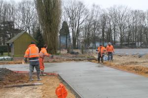 beton storten nieuw stuk 2